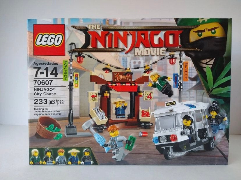 "Lego Ninjago ""City Chase"" Retired, unope"