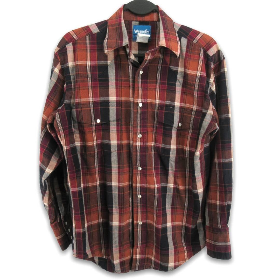 Vintage Wrangler Snap Button Up Shirt
