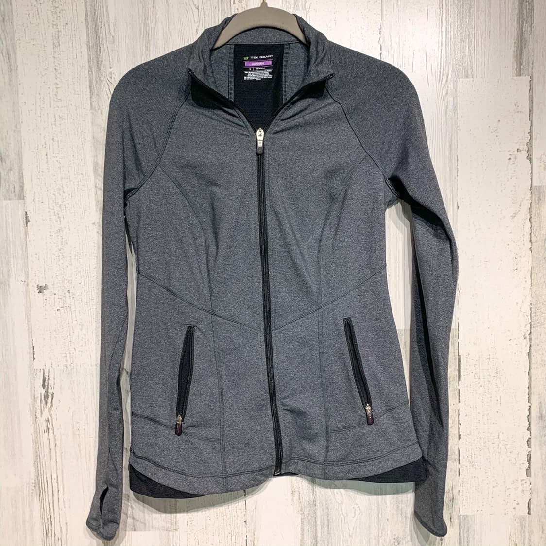 Tek Gear Shapewear Grey RUNNING Jacket