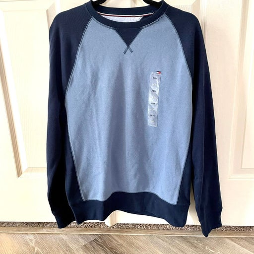 Tommy Hillfiger blue LS pullover