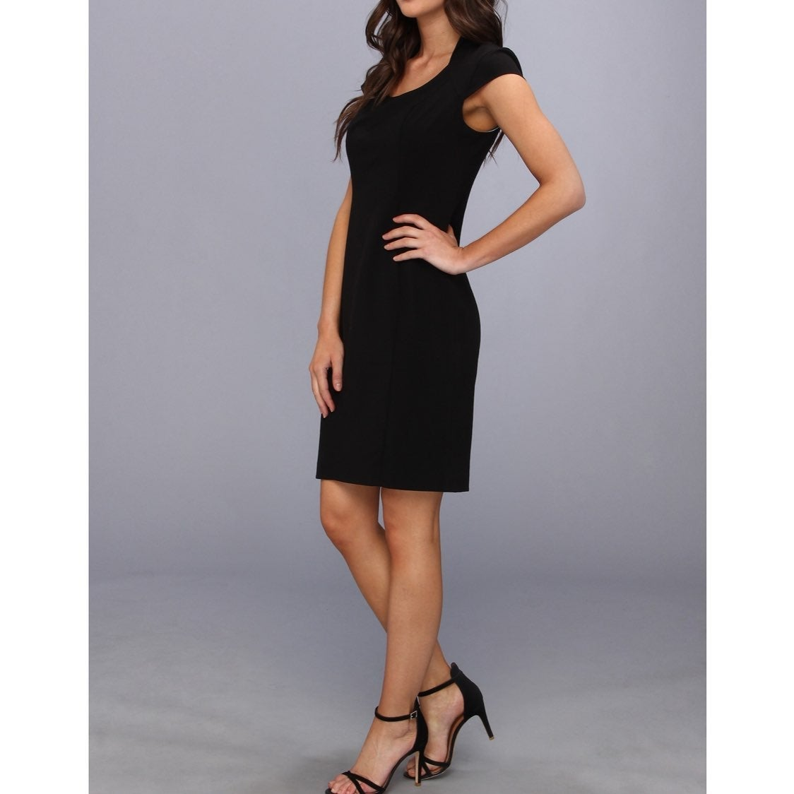 Andrew Marc New York black dress