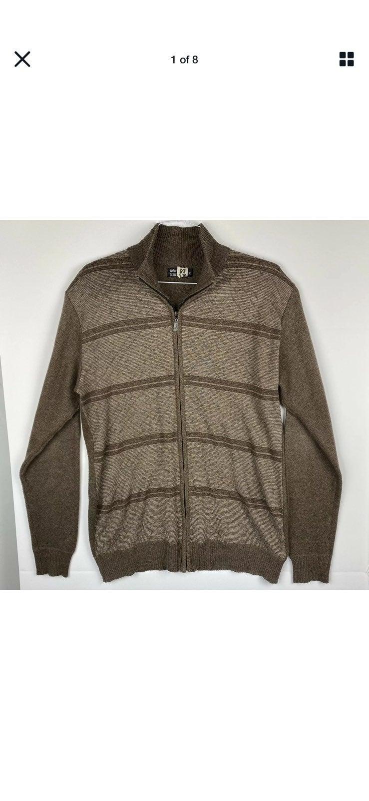 Marx and Dutch Medium Full Zip Sweater