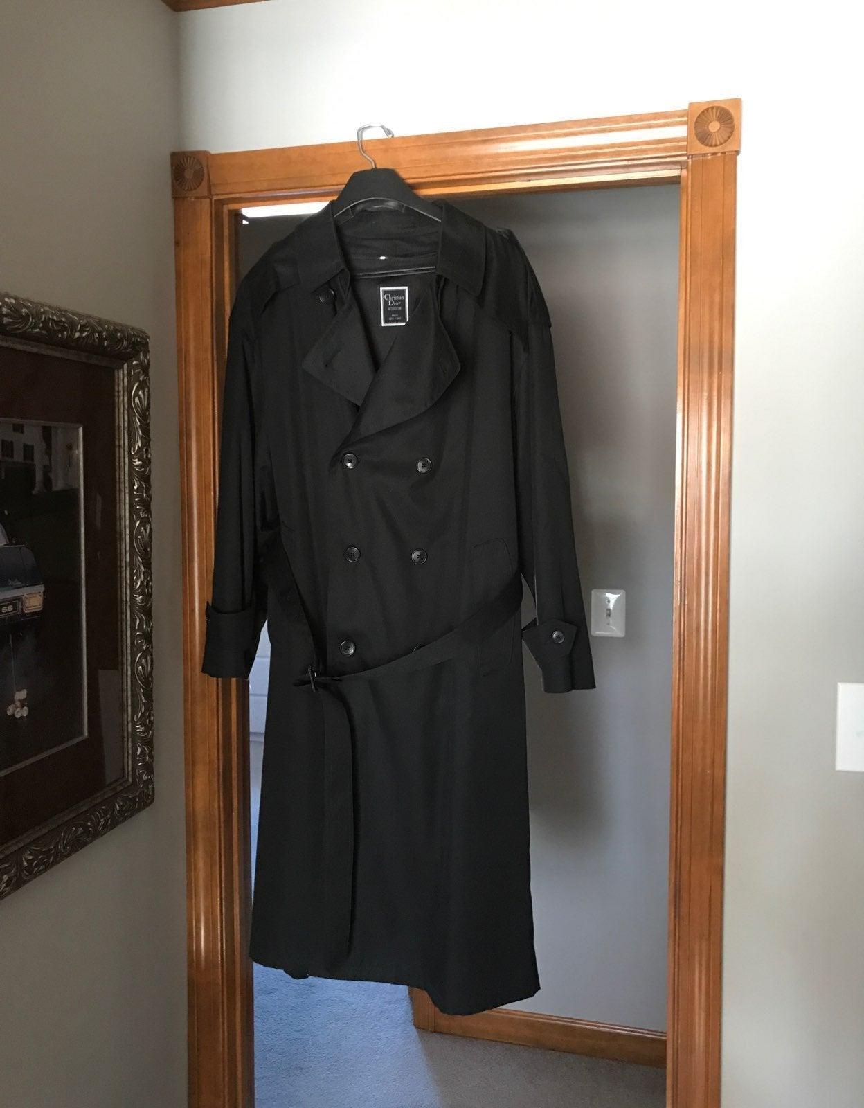 Christian Dior 42 R Men's Trench Coat