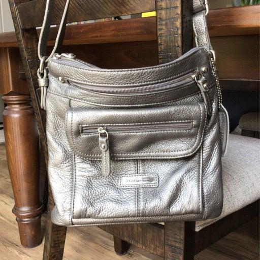 Croft and barrow platnium bag