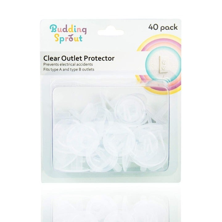 Clear Outlet Protectors (40-Pack) Child