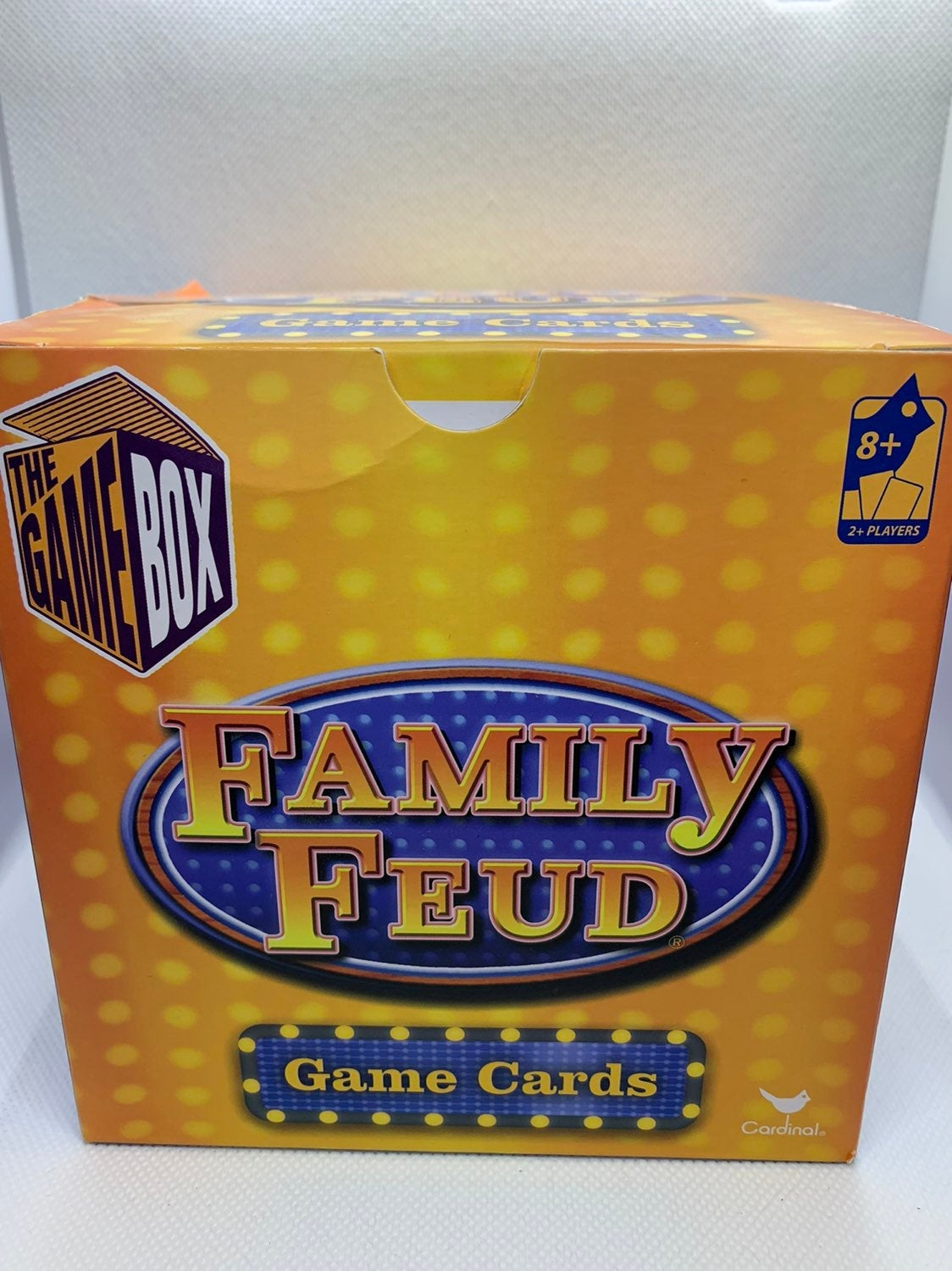 Family Fued Game Box Card Game