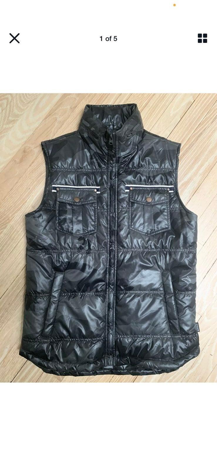 David Buffalo Puffer Vest Size M