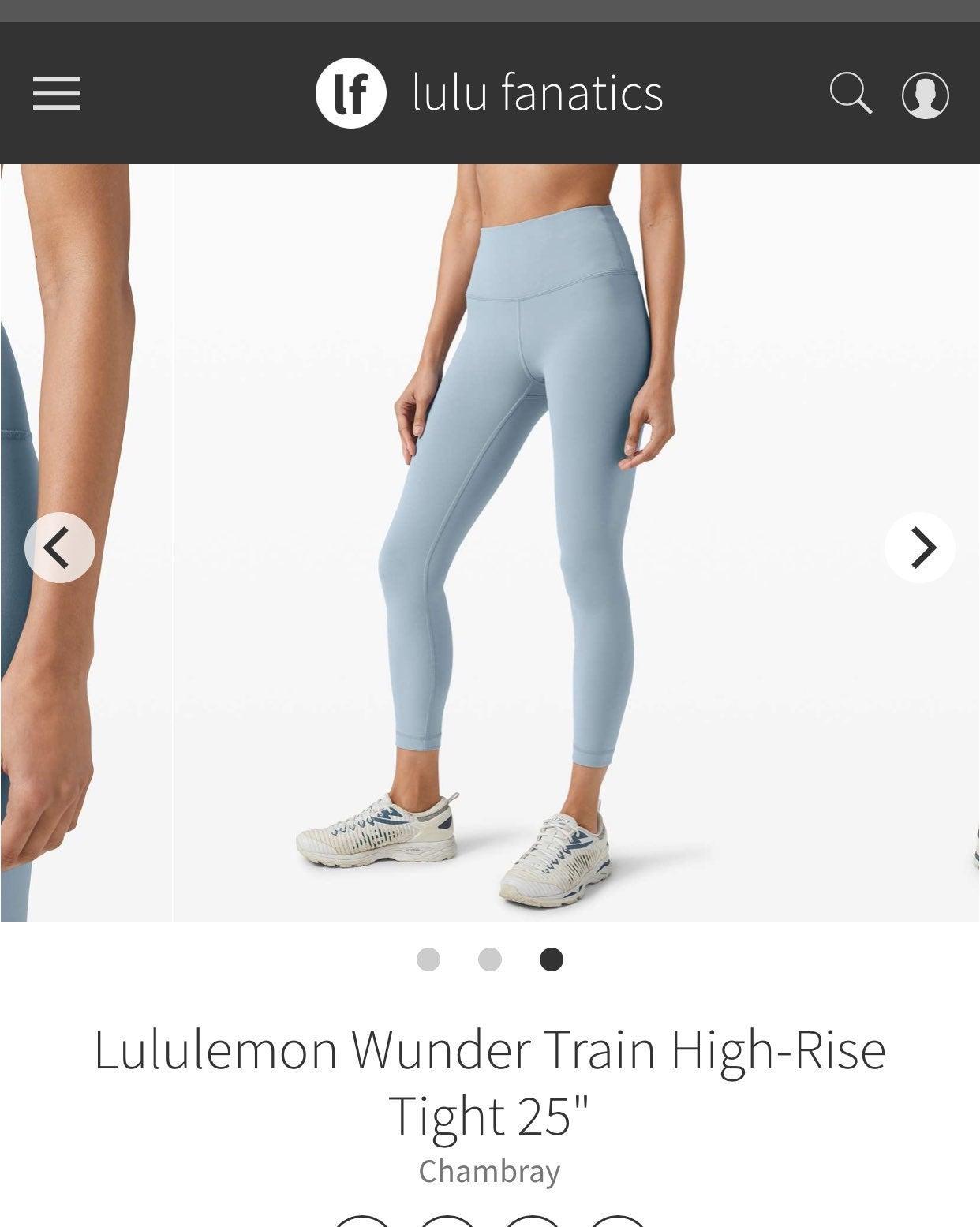 """lululemon wunder train 25"""""""