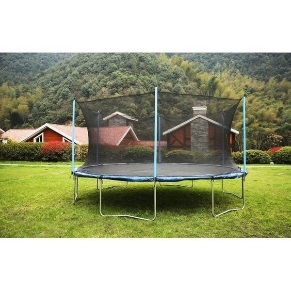 Trampoline w/ Safety Enclosure 16ft