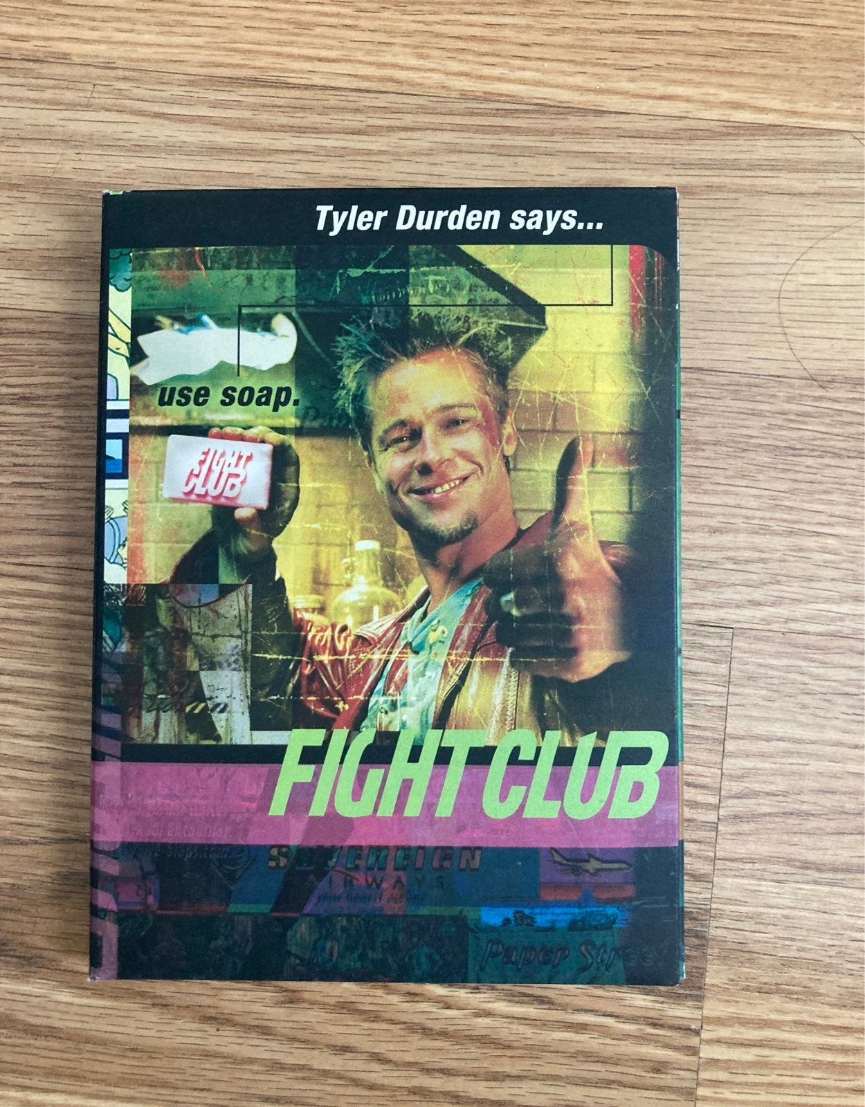 Fight Club collector's DVD