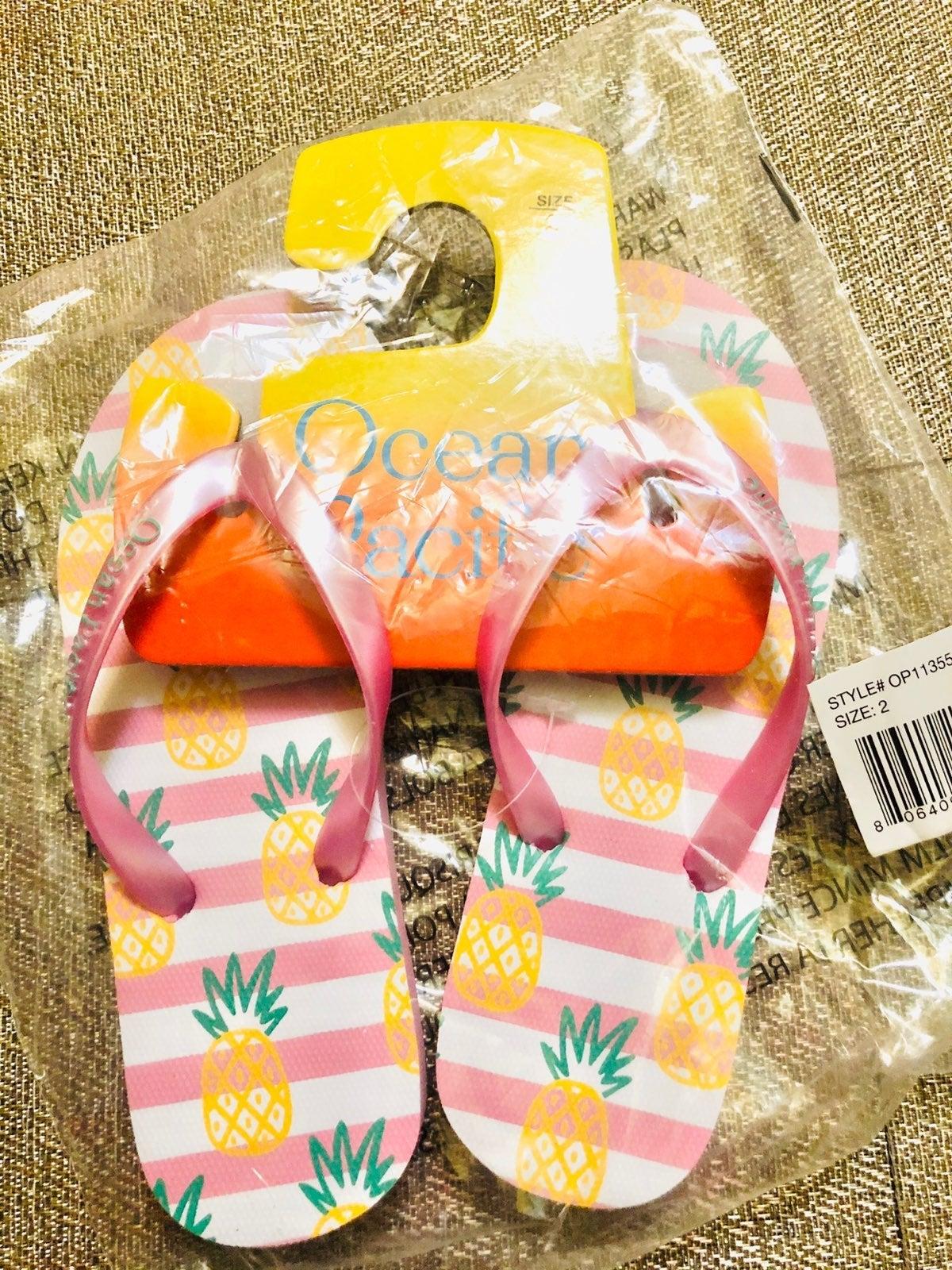 Sandals size 2 girls (niñas) Op