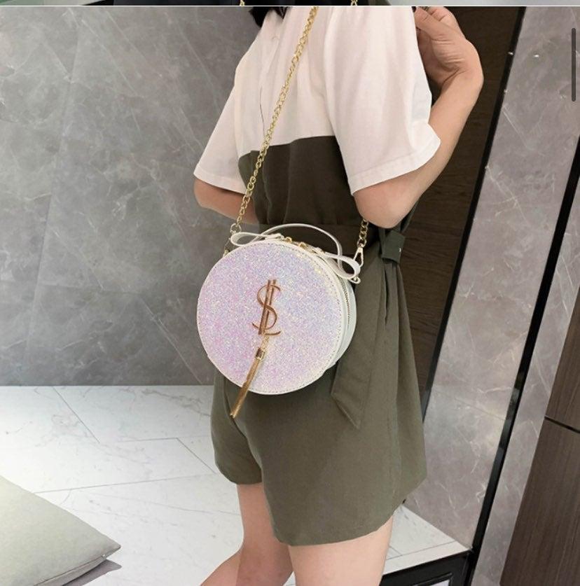 sequin crossbody women bag