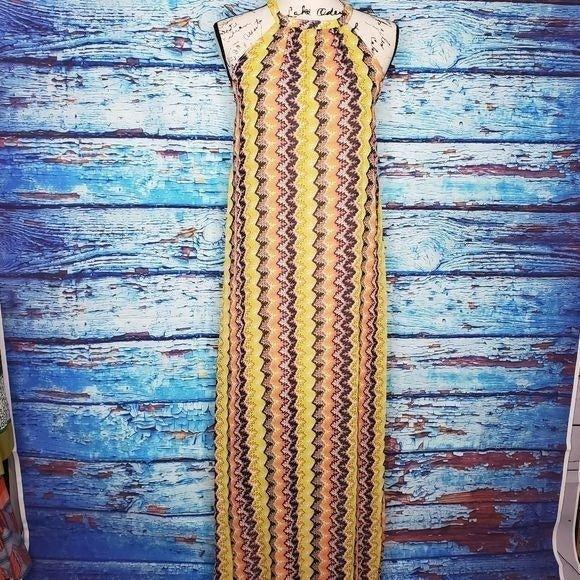 Bar III Long Maxi Dress SZ SM