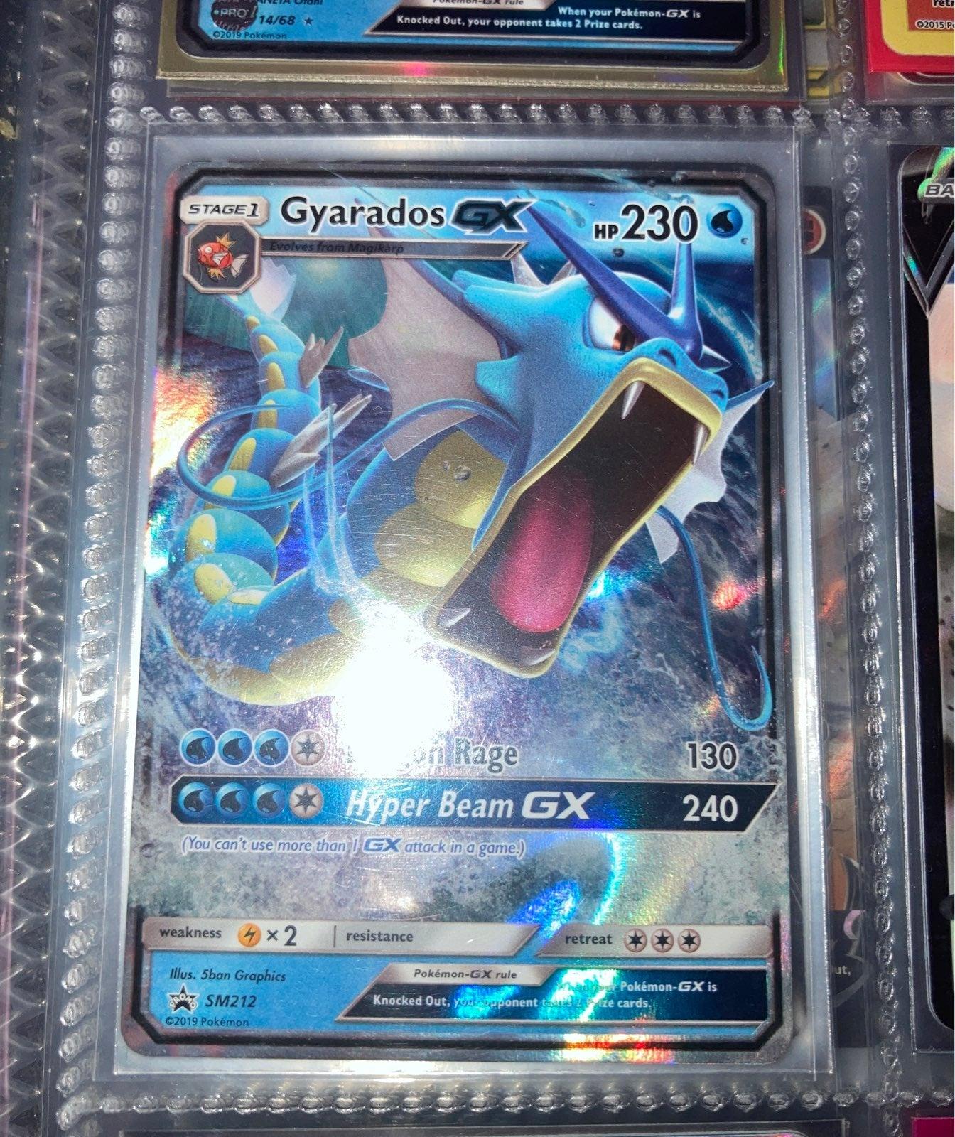 Gyrados Gx Pokemon Card
