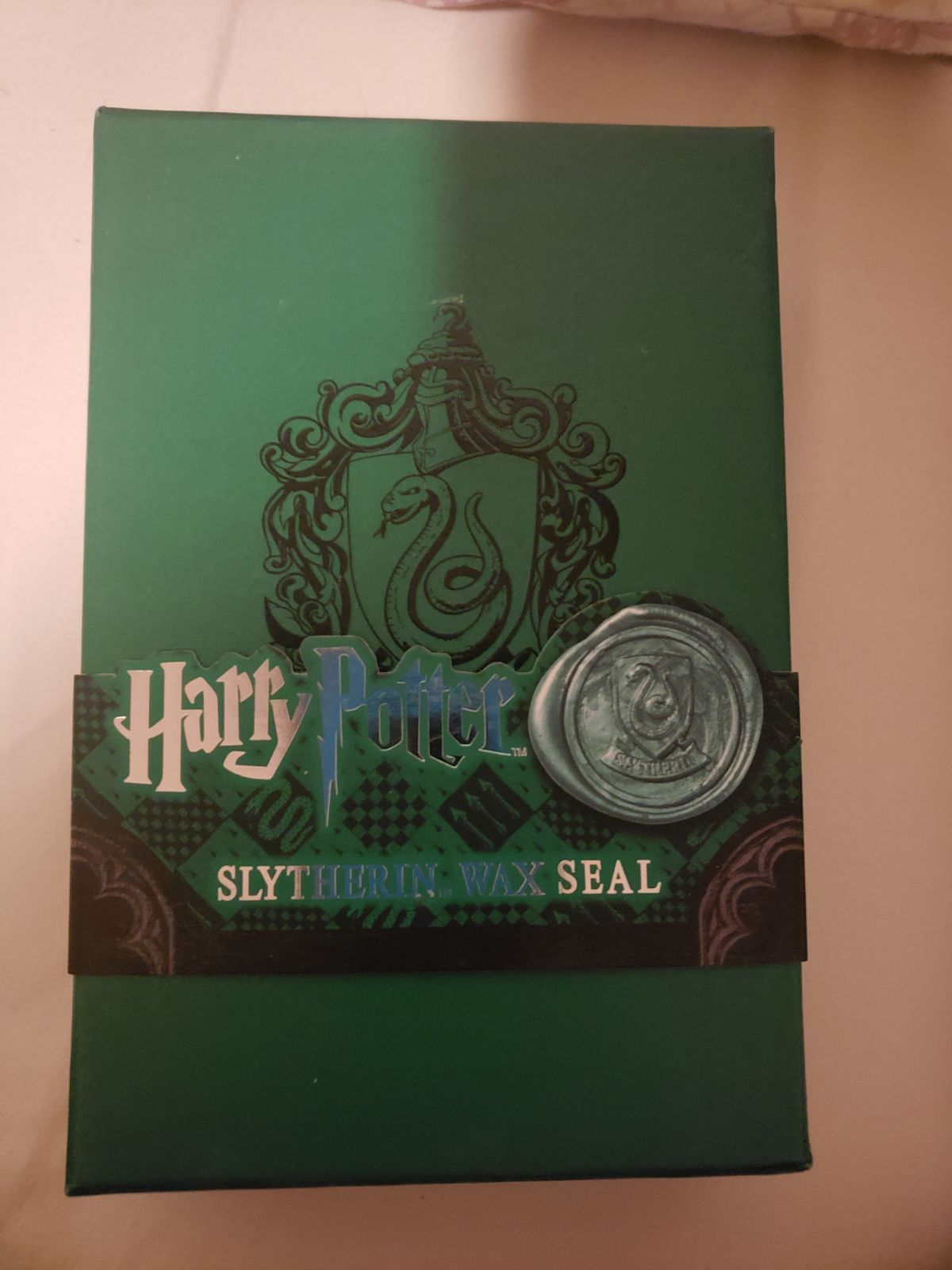 Harry potter wax seal slytherin