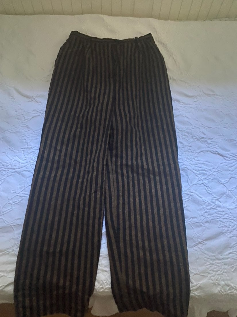 Christian Dior stripped trousers