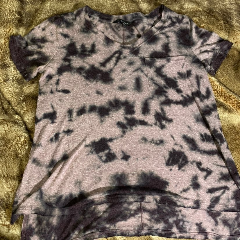 Rock & Republic Dark Tie Dye Shirt