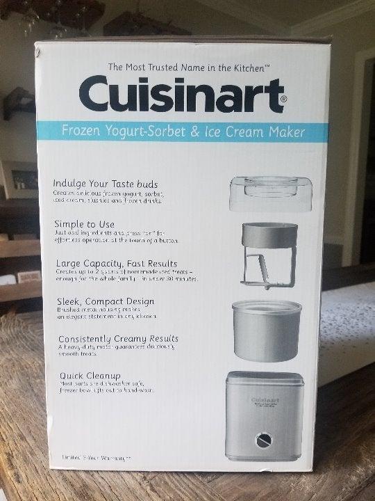 Cuisinart Frozen Yogurt, Ice Cream Maker