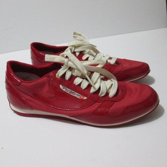 Diesel Sheclaw Sneakers Red 7.5