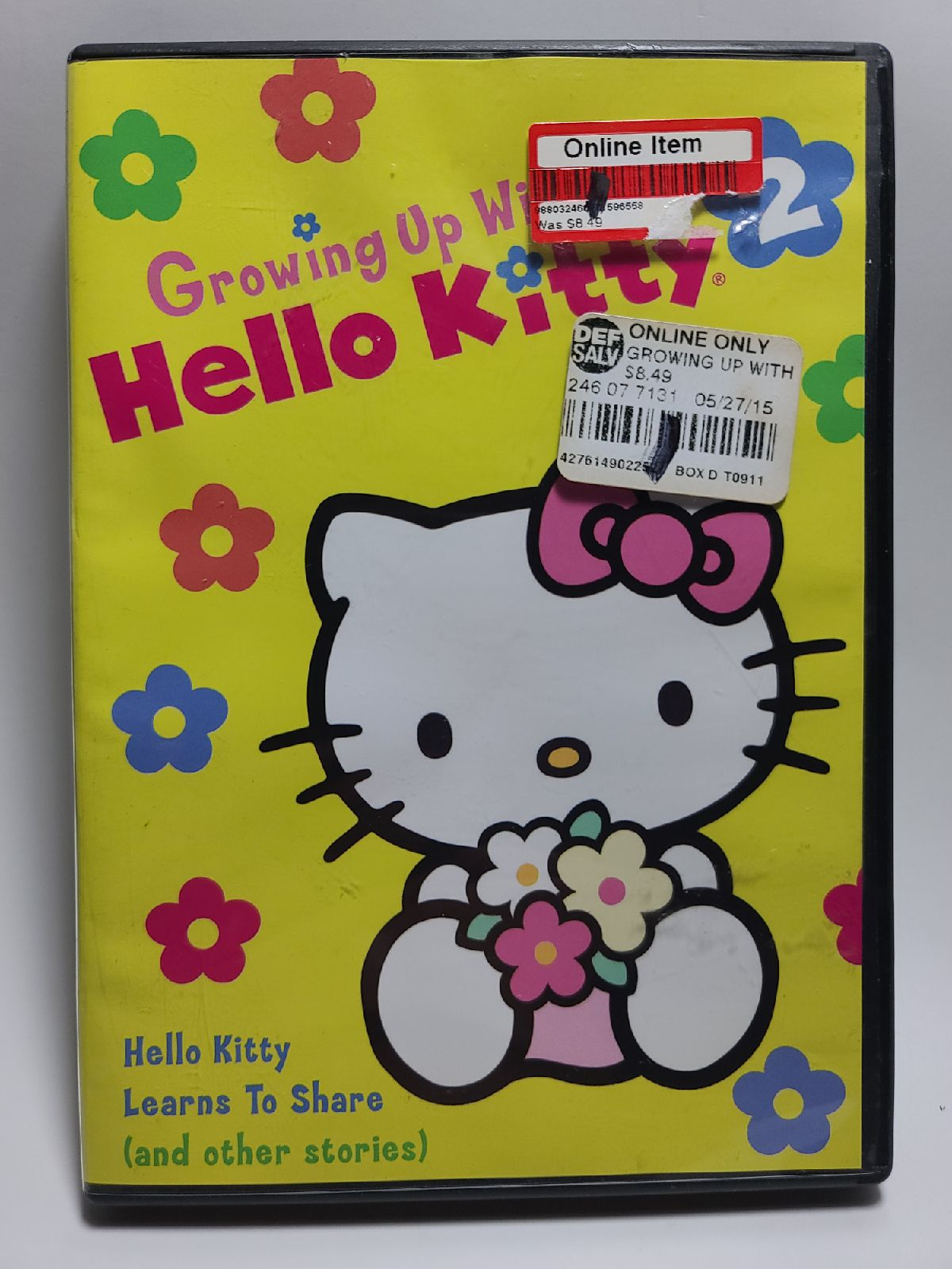 Growing up with Hello Kitty DVD