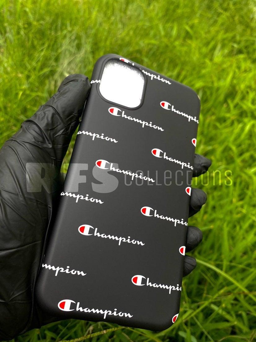 Multi Champion Black Iphone Case