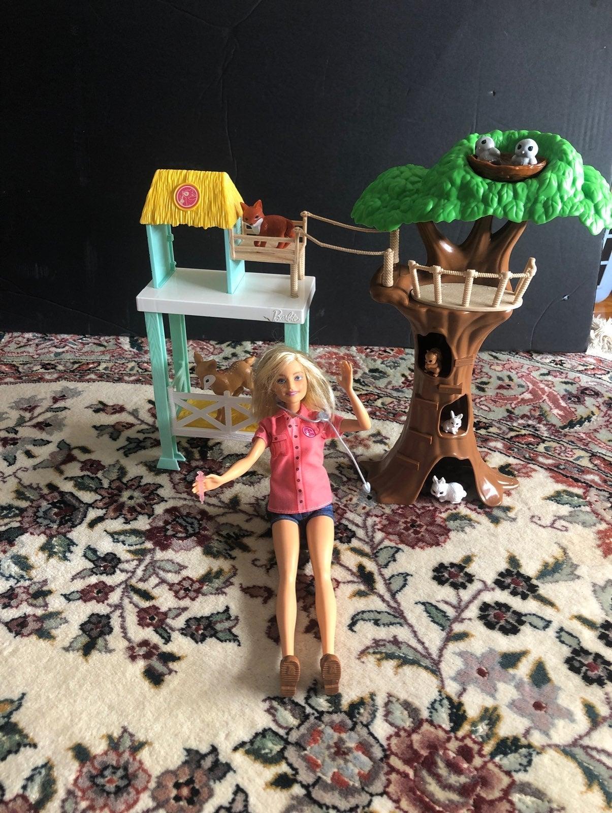Barbie Careers Animal Rescue Playset