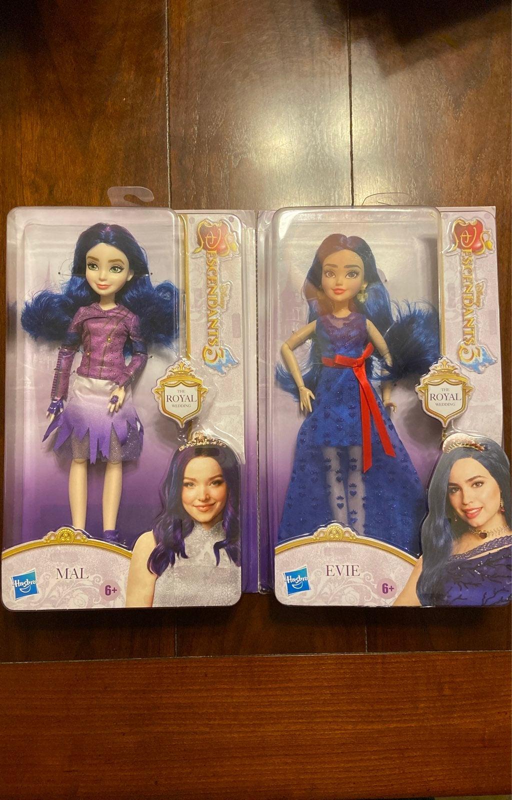 Mal & Evie Doll The Royal Wedding Bundle
