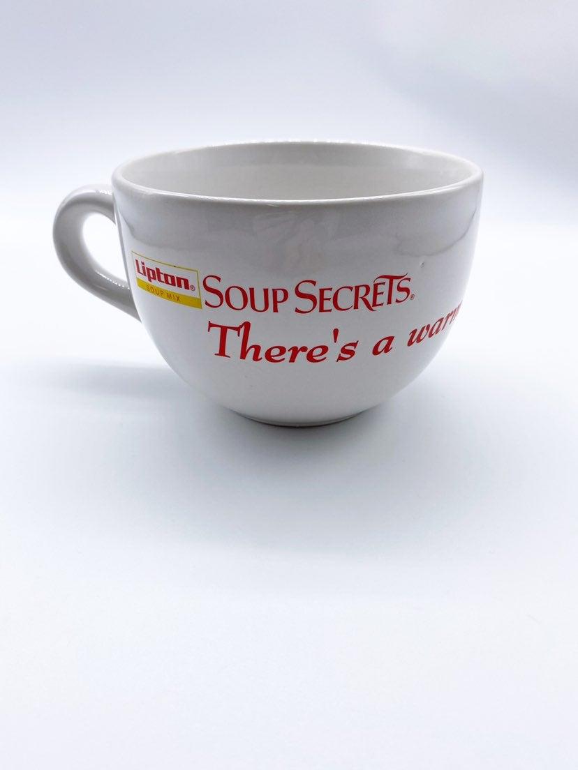 Vintage Lipton Large Ceramic Soup Mug