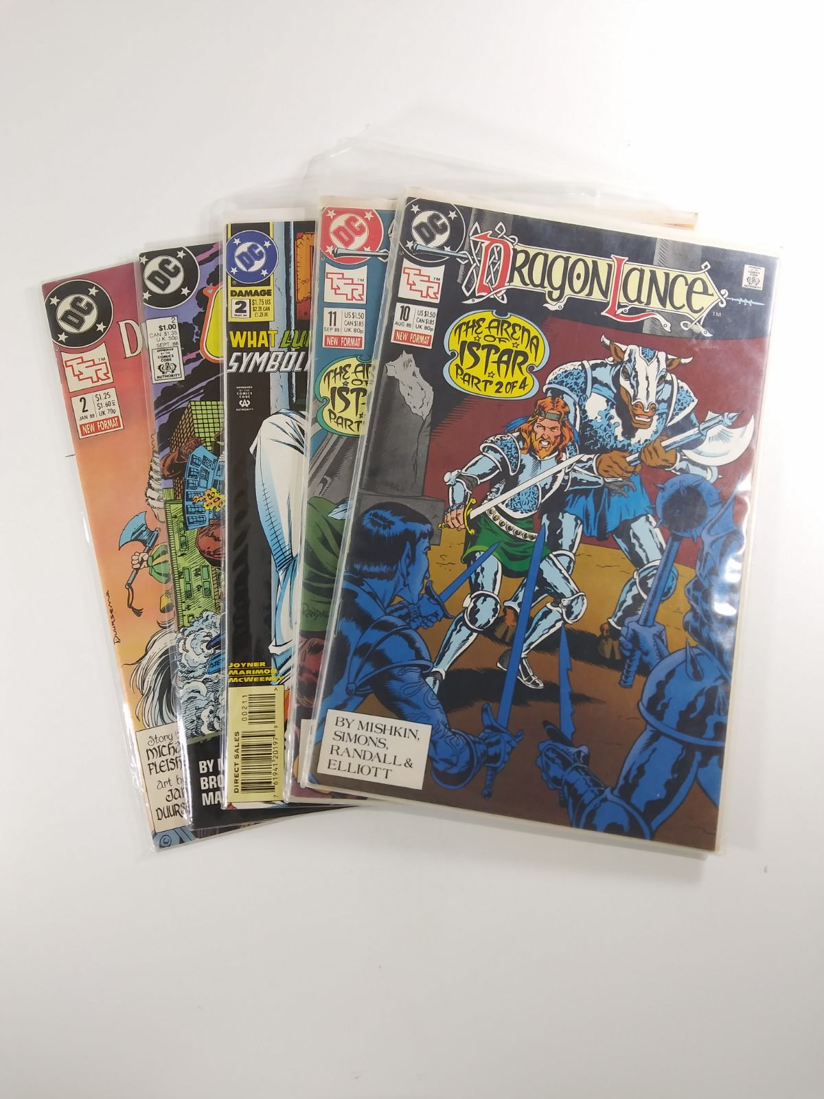 DC Comics Books Lot (Dragon Lance etc.)