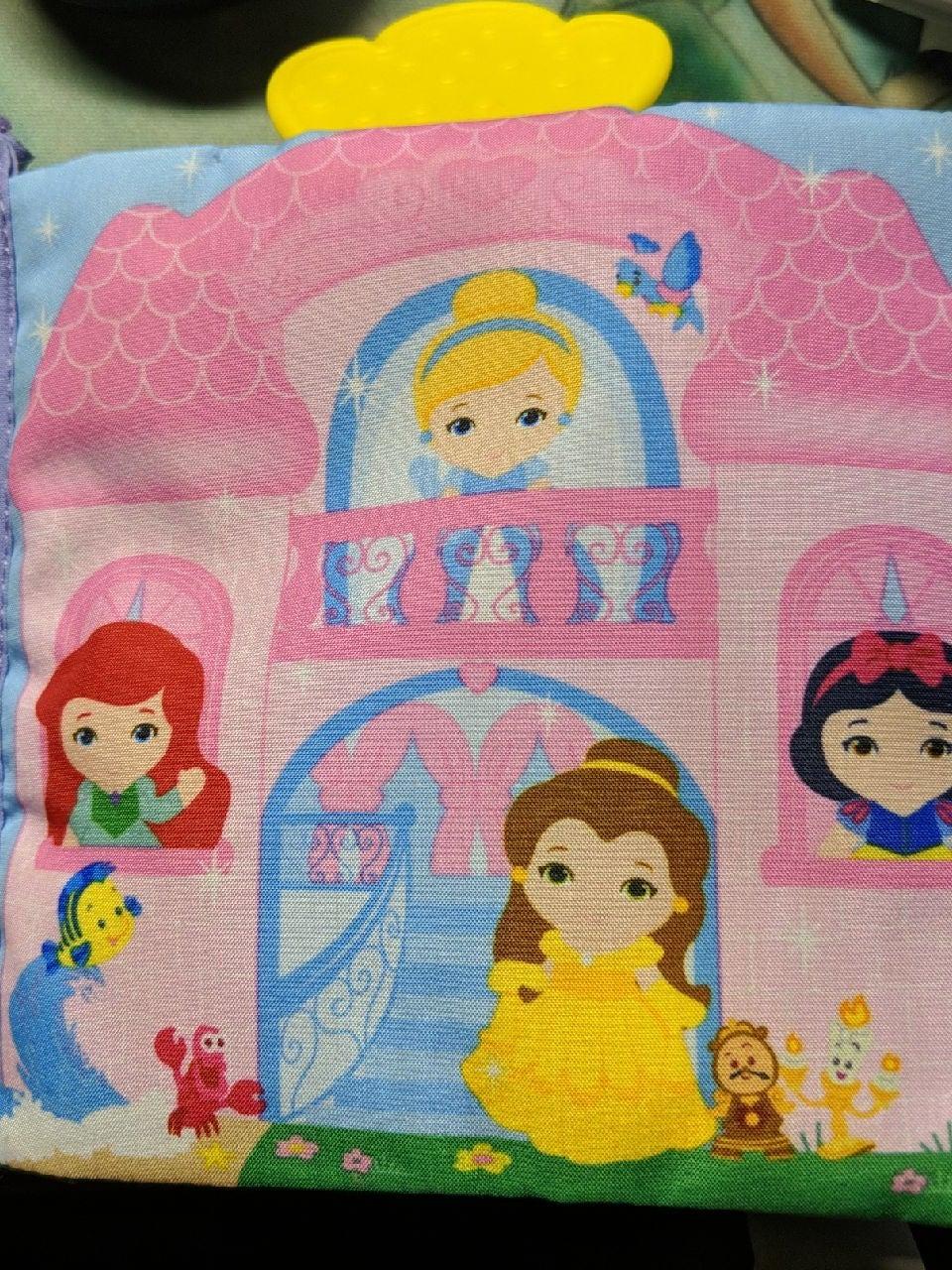 Disney baby soft book