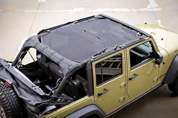 Rugged Ridge Sunshade Jeep Wrangler JK 4