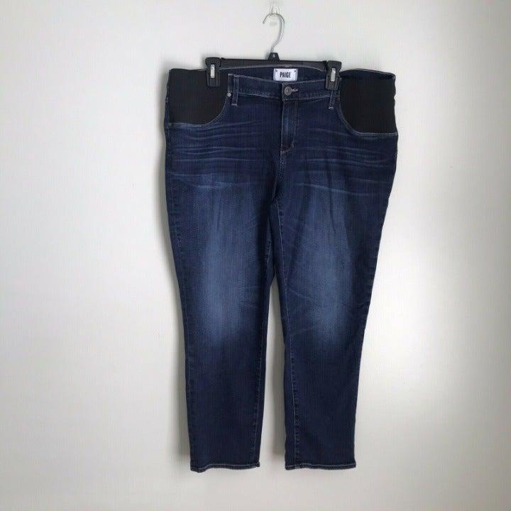 PAIGE Brigitte Maternity Jeans