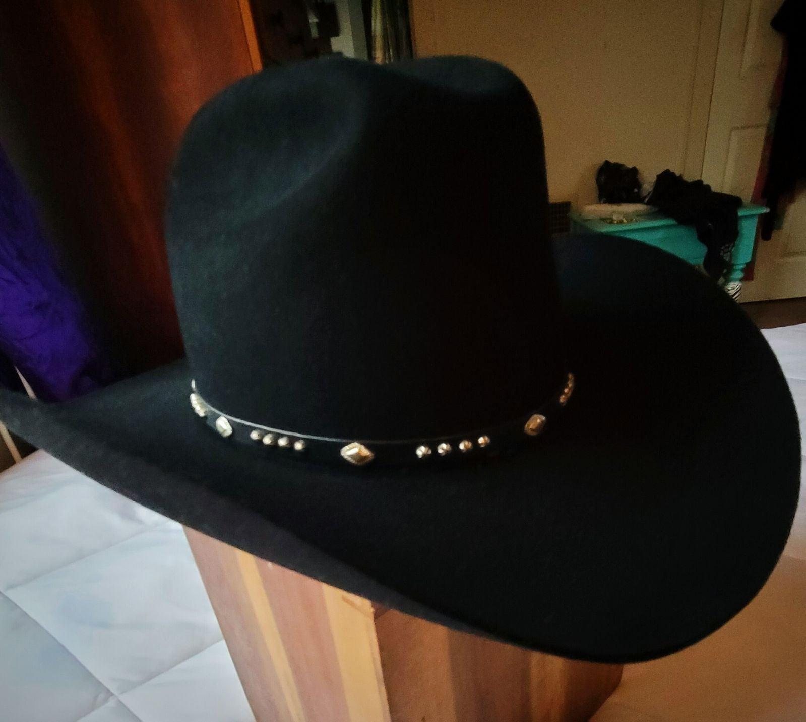 Resistol Black 5xxxxx Beaver Cowboy Hat