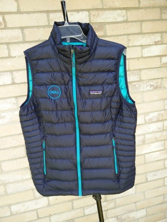 Medium Patagonia Blue Dell Puffy Vest