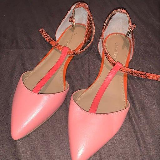 Calvin Klein size 6.5 flat shoes