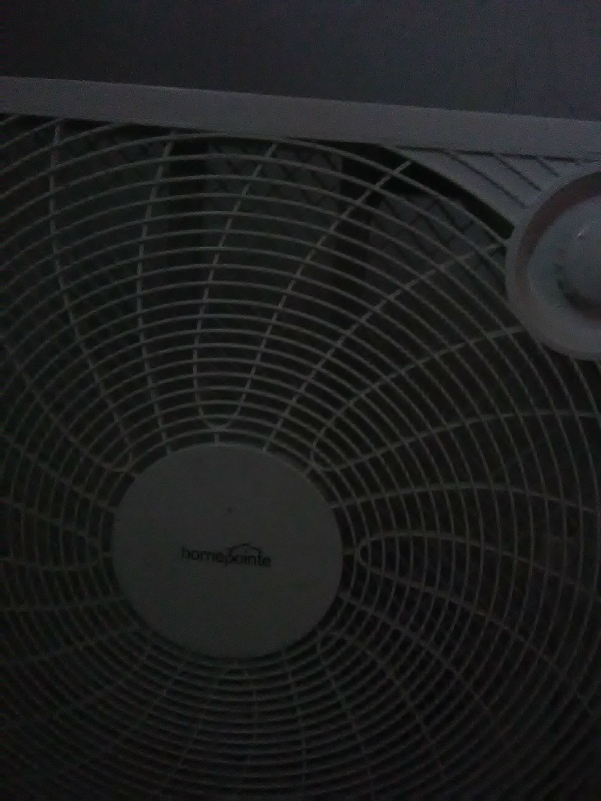 White fan works too good