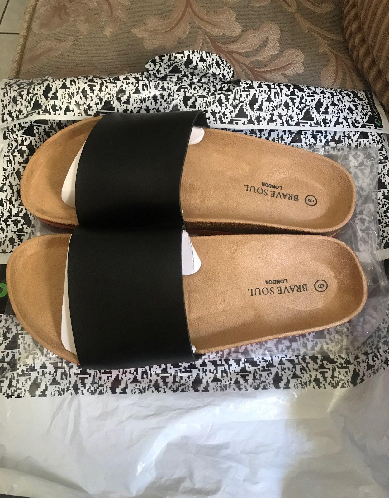 men birkenstock style sandals