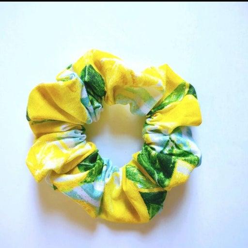 Cotton Scrunchie Lemons