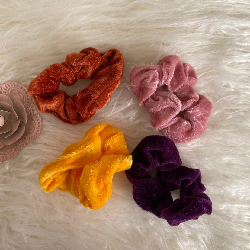 Hair Scrunchies set of 4 NWOT