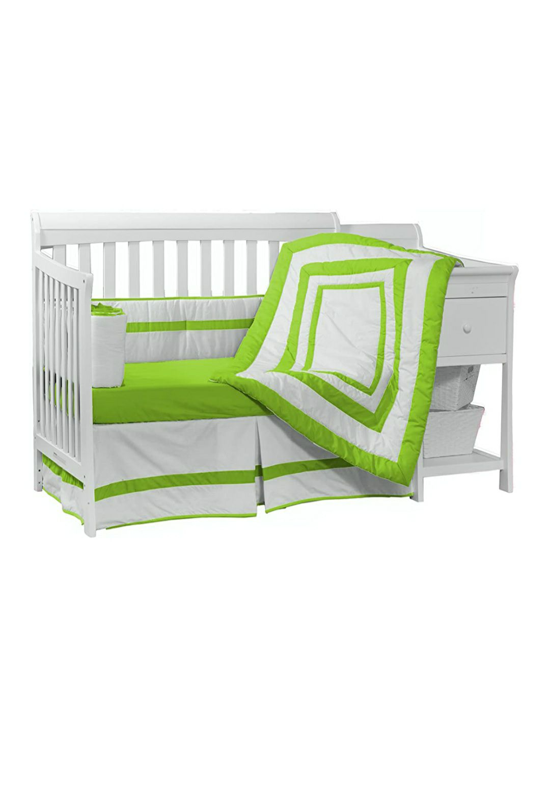 Baby Doll Modern Crib Bedding