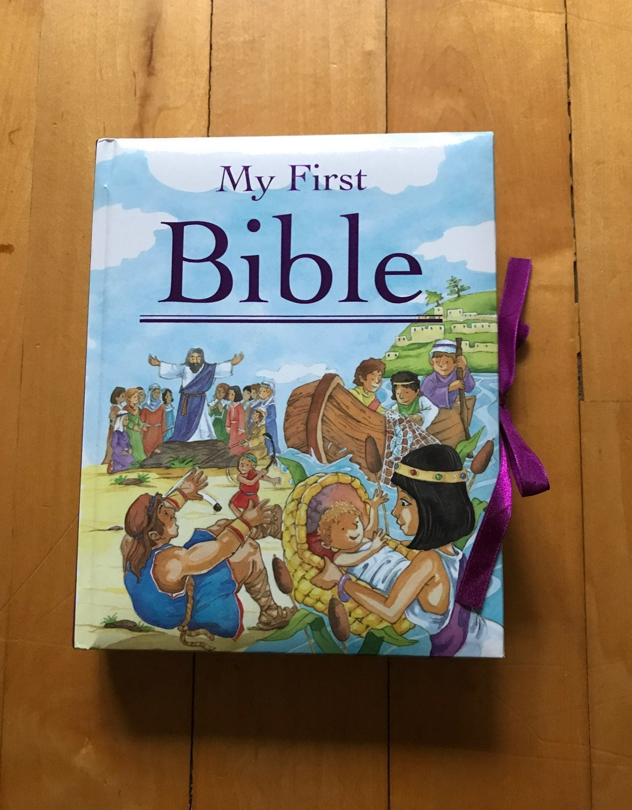"""childrens books """"My First Bible"""""""