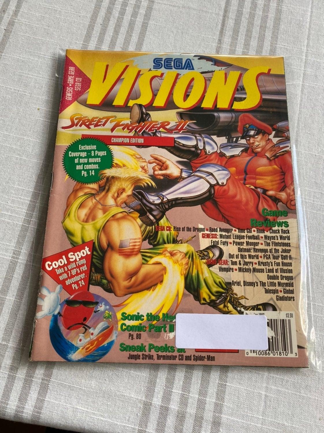 Sega Visions Magazine April/May 1993