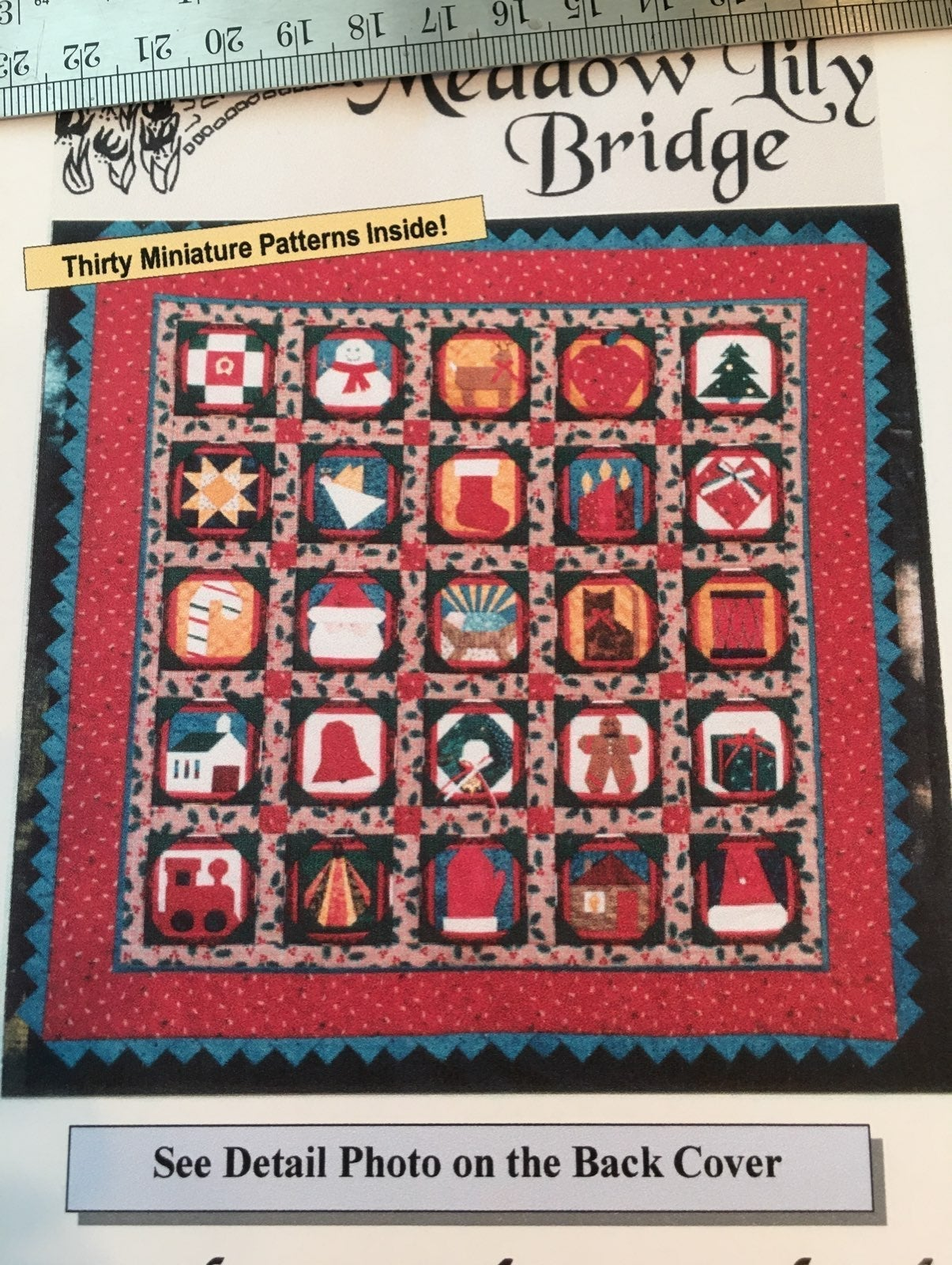 Advent Calendar Mini Quilt Pattern