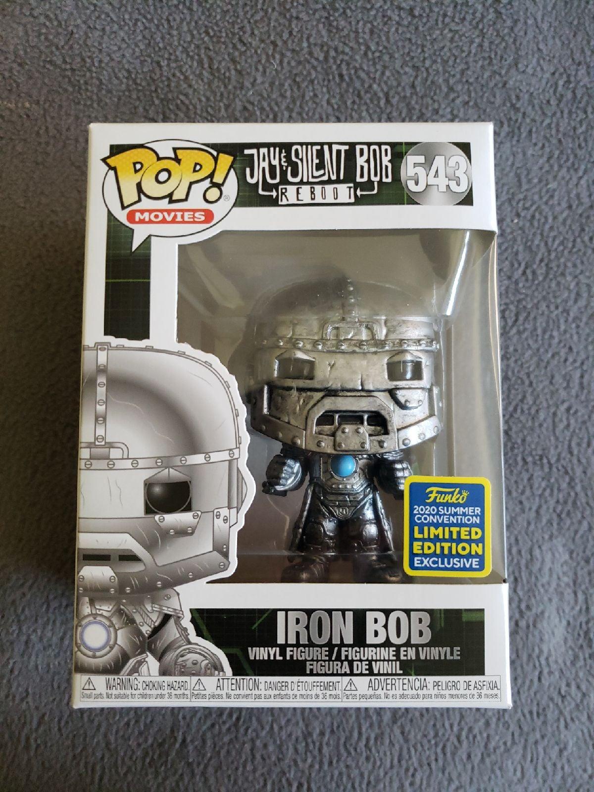 Funko Pop Iron Bob