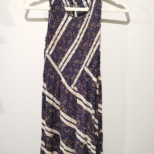 Club monaco summer midi dress, size 00