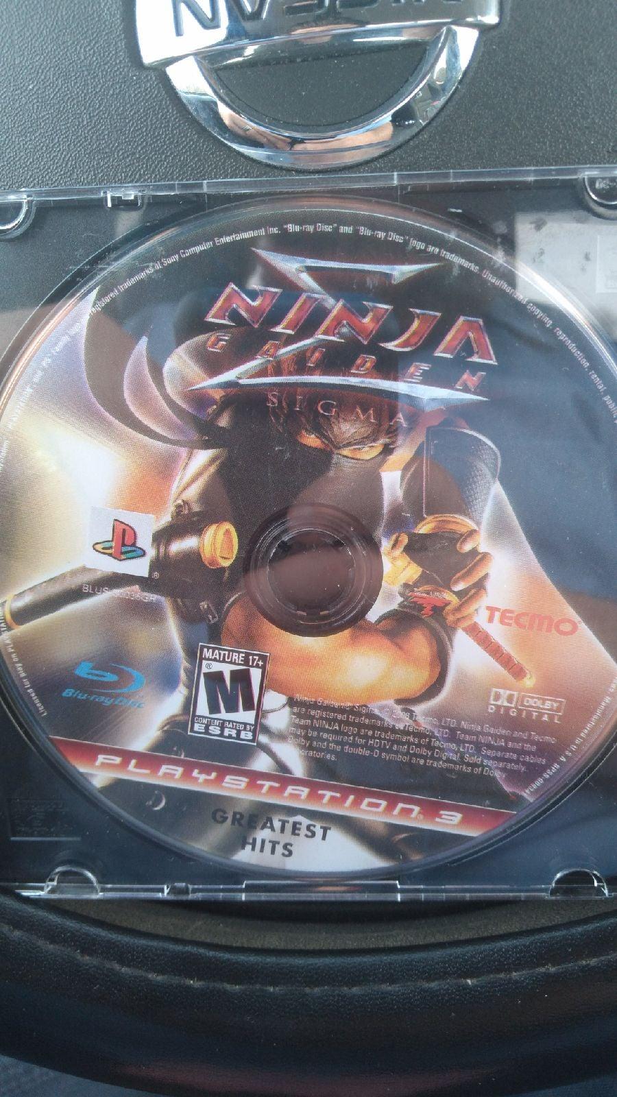 Ninja Gaiden Sigma ps3 playstation3