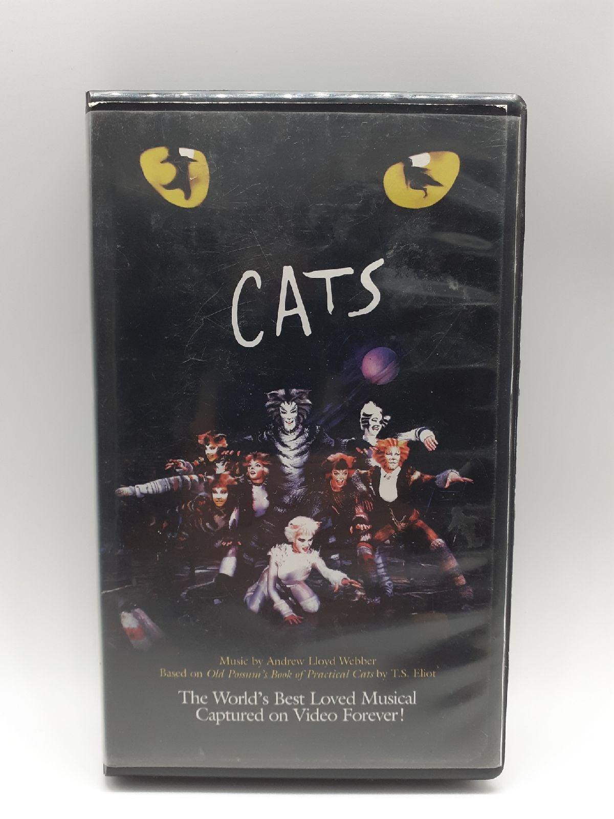 VHS Cats Musical Andrew Lloyd Webber