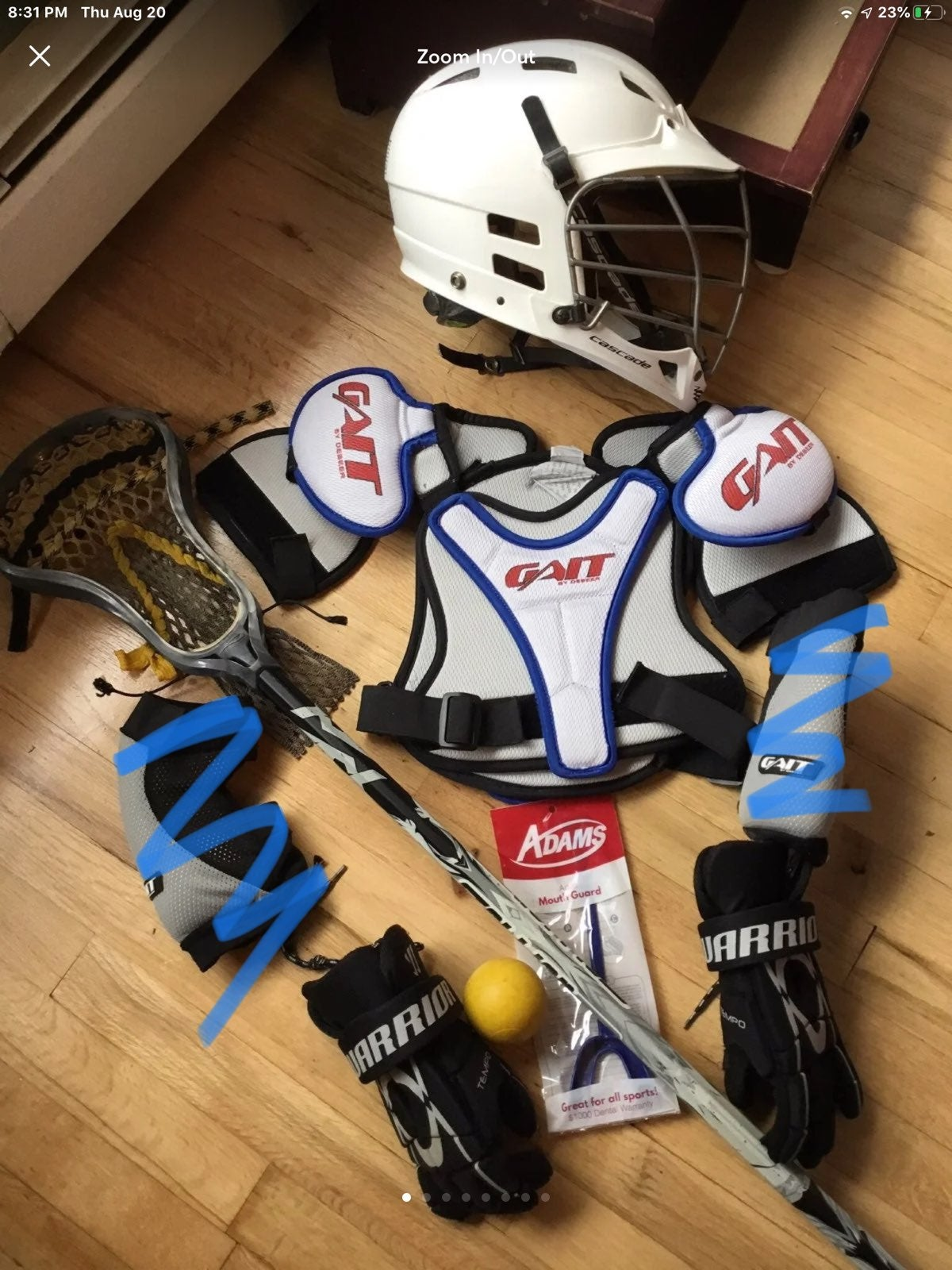 lacrosse set youth s