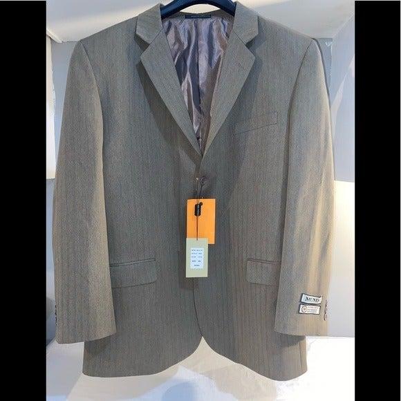 Mundo men's blazer 46L taupe