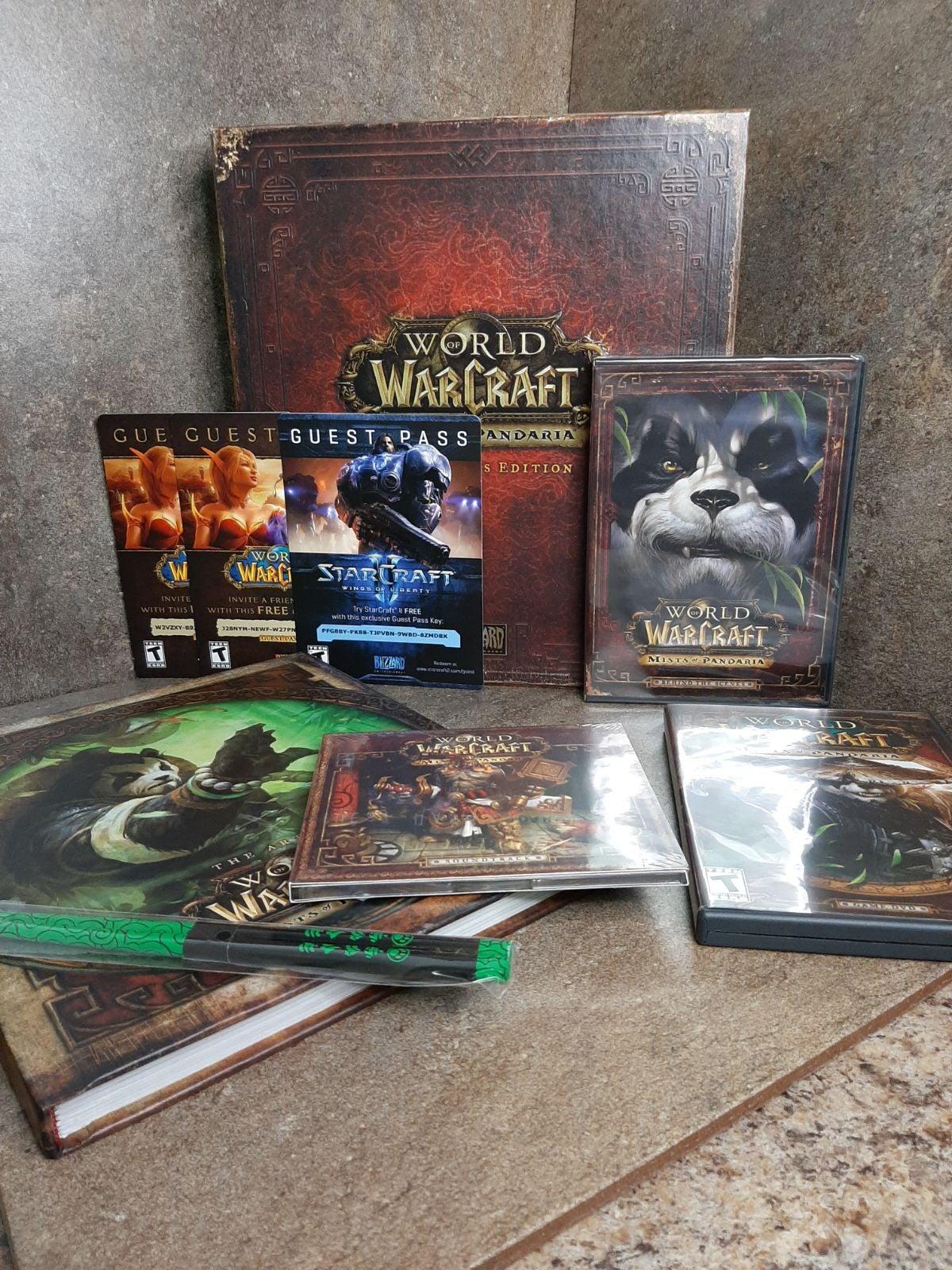 War of Warcraft Mists of Pandaria collec